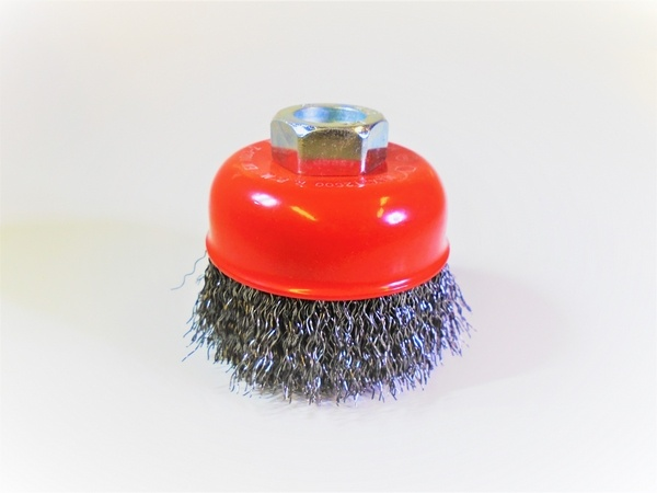 60mm wire wheel cup brush