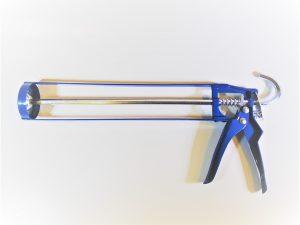 Caulking cartridge gun