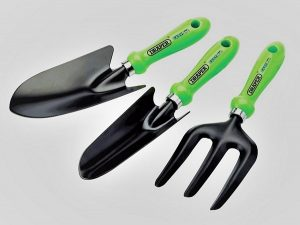 Hand fork and trowel set