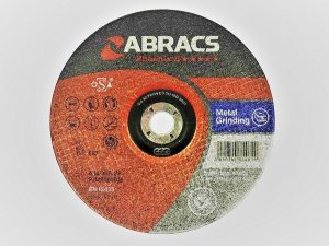 230 x 6 x 22mm Metal Grinding Disc