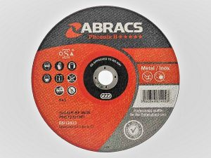 100 x 1 x 10mm Metal Cutting Disc
