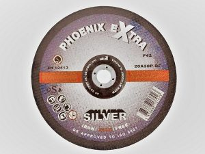 230 x 3 x 22mm Metal Cutting Disc