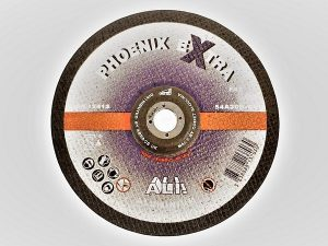 178 x 7 x 22mm Metal Grinding Disc