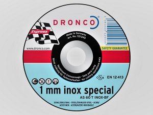 100 x 1 x 16mm Metal Cutting Disc