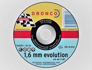 178 x 1.6 x 22mm Metal Cutting Disc