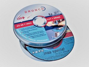 115 x 2.5 x 22mm Metal Cutting Discs