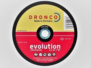 178 x 6 x 22mm Metal Grinding Disc